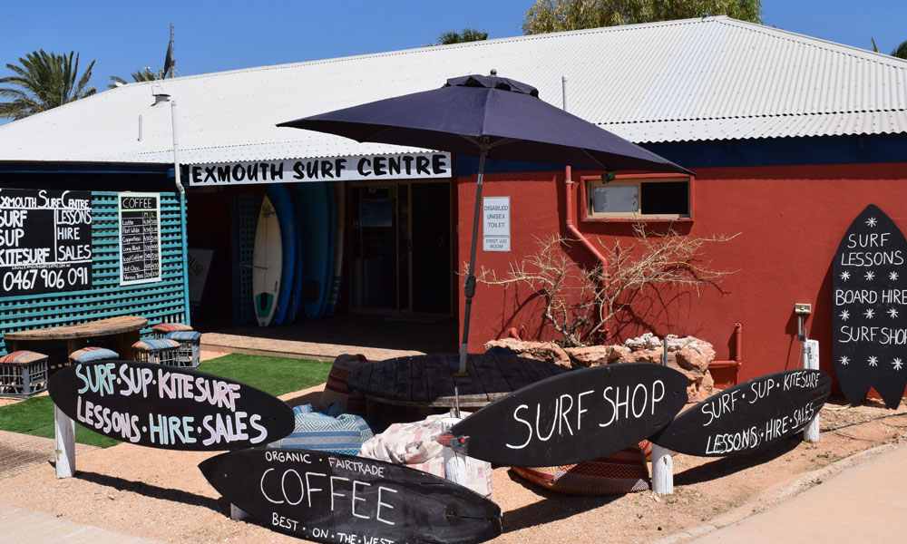 About Tom and Jana at Exmouth Surf Centre