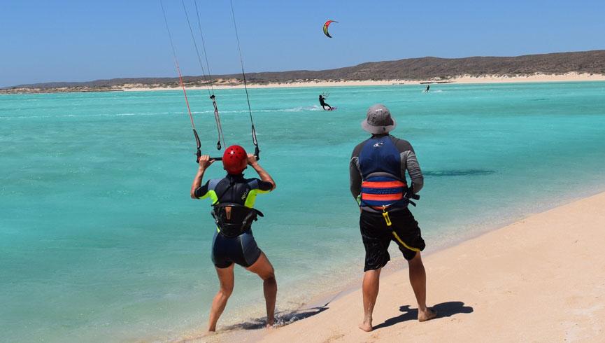 Teach me to Kite surf