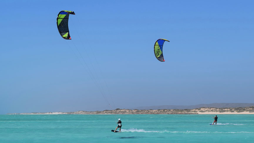 5 Day progressive camp holiday kitesurf