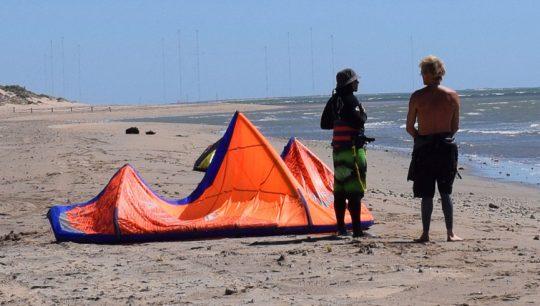 Intermediate Kitesurfing Lessons Learning