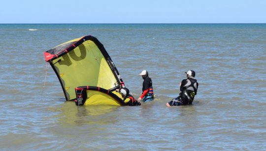 Kitesurfing Beginner Lesson Learn
