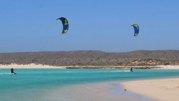 Learn to Beginner Kitesurfing Lesson