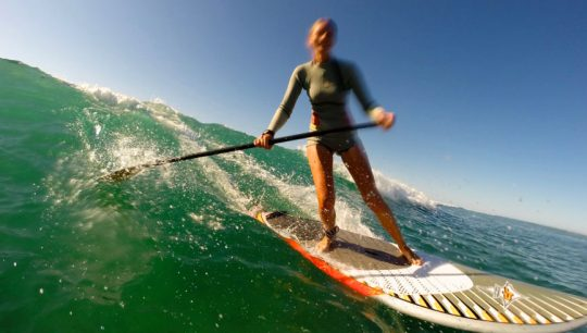 Learn to SUP Surf Girls SUP Lessons