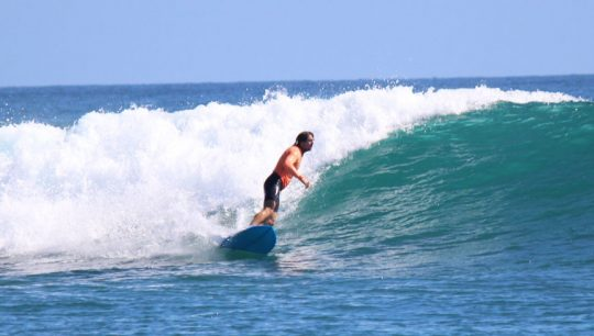 Learn to Surf Lessons 3 day Learning