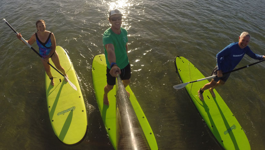 SUP Discovery Lesson & Tour Family Tours