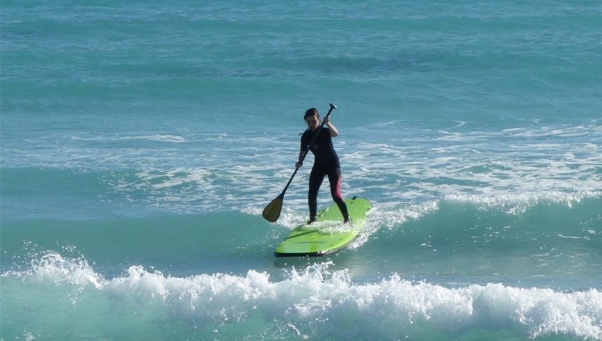 SUP Intermediate Lesson & Tour Learn. SUP Lessons & Tours!