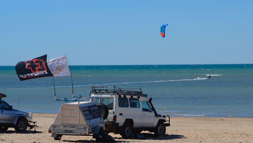 Exmouth Kitesurfing Beginner Lesson