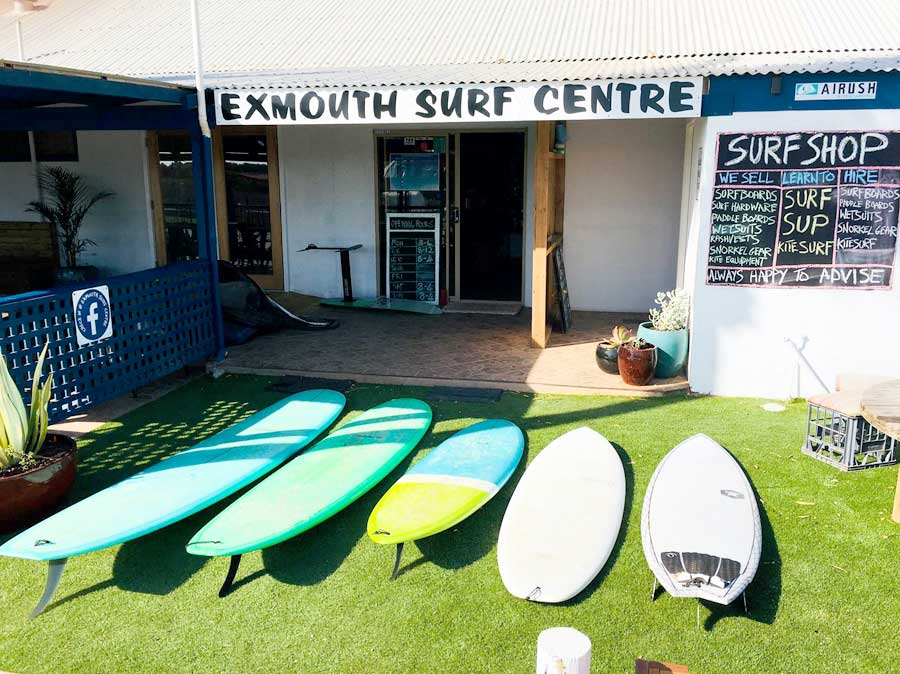 Performance Surfboard Hire In Exmouth WA